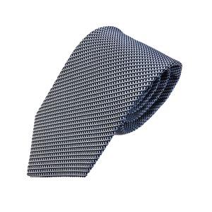 ネクタイ 小柄シリーズ 日本製シルク100% スカイブルー  - 拡大画像