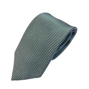 ネクタイ 小柄シリーズ 日本製シルク100% グリーン - 拡大画像