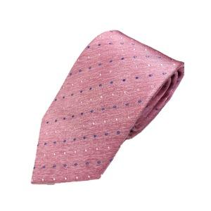 織り水玉シリーズ 日本製シルク100% クリアピンク