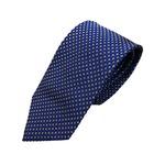 秋冬小紋織柄コレクション ブルー