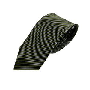 トラッドレジメンタルシリーズ シルク100% 抹茶 大剣幅約8.0cm