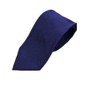 日本製シルク100%ネクタイ ピンドット パープル/ローズ - 拡大画像