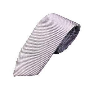 シルク100%ネクタイ ドット 淡いパープル
