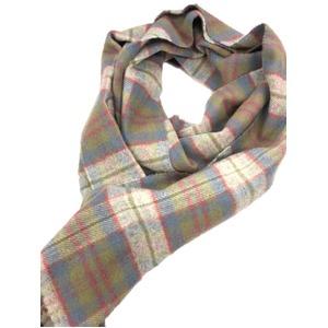 人気 英国製 Factory Made Lambs Wool100% Lochaber District - 拡大画像