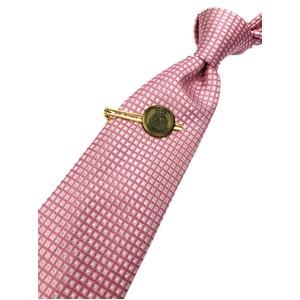 トラッド 七宝 エンブレムタイピン&手縫いシルクネクタイセット JE-TPN12 - 拡大画像