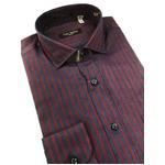 イタリア製ファクトリーシャツ from milano トラッド レジメンタルデザイン Lサイズ