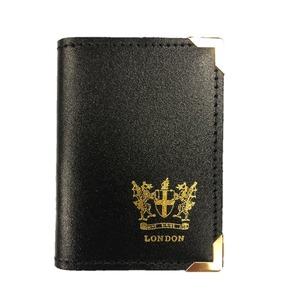 BRITAIN MADE レザーカードケース ブラック - 拡大画像