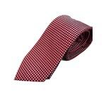 イタリア製 シルク100%ネクタイ From MILANO レッド×ドット Silk 100% tie From MILANO red×dot made in Italy