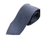 イタリア製 シルク100%ネクタイ From MILANO ブルー×ドット Silk 100% tie From MILANO blue×dot made in Italy
