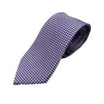 イタリア製 シルク100%ネクタイ From MILANO パープル×ドット Silk 100% tie From MILANO purple×dot made in Italy