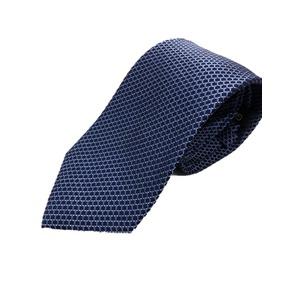 イタリア製 シルク100%ネクタイ From MILANO ブルー - 拡大画像