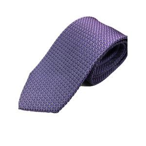 イタリア製 シルク100%ネクタイ From MILANO パープル - 拡大画像