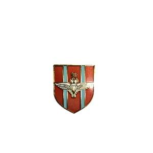 英国モチーフ ミリタリー ピンバッジ 002 レッド - 拡大画像