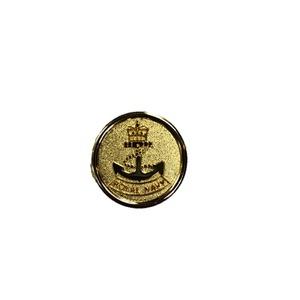 英国モチーフ ミリタリー ピンバッジ 003 ゴールド - 拡大画像