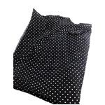 ファクトリー イタリア製 シルク100%ポケットチーフ ハンカチーフ ネイビー