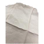 ファクトリー イタリア製 シルク100%ポケットチーフ ハンカチーフ ピンク