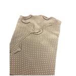 ファクトリー イタリア製 シルク100%ポケットチーフ ハンカチーフ グレー