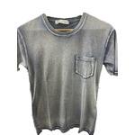 トラッド インディゴ 綿100%ポケットTシャツ インディゴネイビー Mサイズ