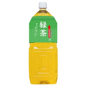 桂香園 緑茶 2L×12本(6本×2ケース)ペットボトル【鹿児島県産の茶葉使用】 - 拡大画像