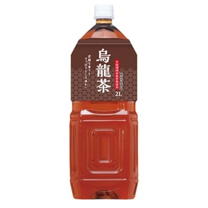 【まとめ買い】桂香園 烏龍茶 2L×60本(6本×10ケース)ペットボトル【中国福建省産の茶葉使用】 - 拡大画像