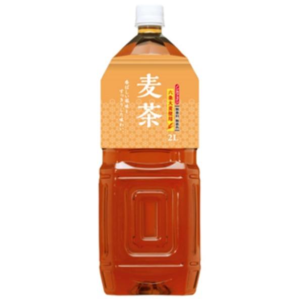 桂香園 麦茶 2L×12本(6本×2ケース)ペットボトル【国内六条大麦を使用】