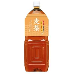 【まとめ買い】桂香園 麦茶 2L×60本(6本×10ケース)ペットボトル【国内六条大麦を使用】 - 拡大画像
