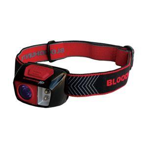 LEDヘッドライト(懐中電灯) 2照射モード:血液探索照射/低照度白色照射 ブッシュネル 【日本正規品】 ブラッドハンターHDヘッドライト