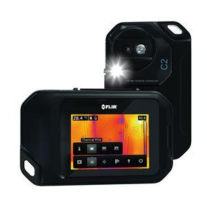赤外線サーモグラフィー(熱画像装置) コンパクト/ポケットサイズ スーパーファインコントラスト搭載 フリアーC2 商品写真