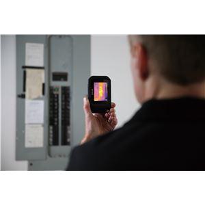 赤外線サーモグラフィー(熱画像装置) コンパクト/ポケットサイズ スーパーファインコントラスト搭載 フリアーC2 商品写真2