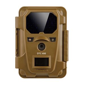 屋外型センサーカメラ(監視カメラ) 約800万画素 防水/カラーモニター搭載 長寿命 ミノックス 【日本正規品】 DTC650BRW - 拡大画像
