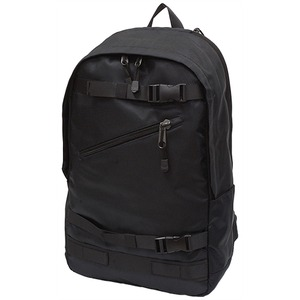 出し入れ簡単15インチ収納ポケット完備リュックサック IK114 黒 - 拡大画像