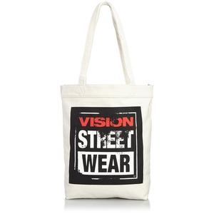 VI SION STREET WEAR 綿キャンパス帆布トートバッグ V ST-803 アイボリー - 拡大画像