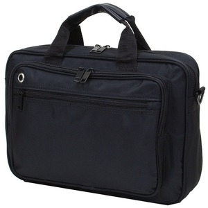 B4サイズ対応大型ビジネスバッグ IK8058 ブラック - 拡大画像