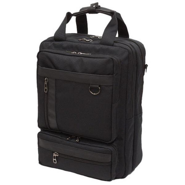 丈夫なバッグ通販『 B-conビジネスシリーズ 3WAYバッグ 縦型  IK125 クロ』