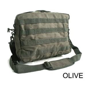 アメリカ軍 2WAYショルダーバッグ/鞄【モール/A4対応】 ナイロンキャンバス地 防水加工 BS076YN オリーブ【レプリカ】