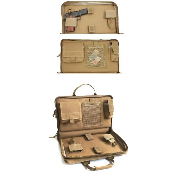 アメリカ軍 防水布使用ハンドガンバッグ BE028NN コヨーテ 【 レプリカ 】