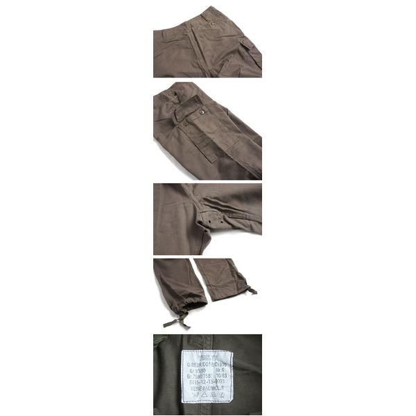 ドイツ連邦国軍 モルスキンカーゴパンツ PP081YN オリーブ Gr6(80cm) 【 レプリカ 】