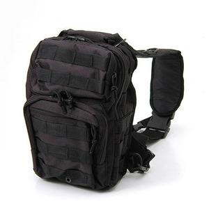 アメリカ軍 偵察隊肩掛けショルダーバッグ B S081YN ブラック 【 レプリカ 】  - 拡大画像