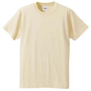 Tシャツ CB5806 ナチュラル Mサイズ 【 5枚セット 】  - 拡大画像
