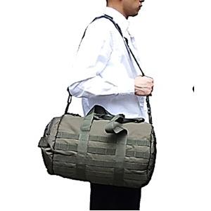 アメリカ軍 ボストンバッグ/鞄 【 2WAY 】 モール対応/ウレタン素材入り BH054YN オリーブ 【 レプリカ 】