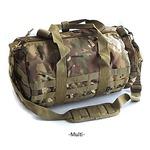 アメリカ軍 ボストンバッグ/鞄 【 2WAY 】 モール対応/ウレタン素材入り BH054YN マルチ カモ 【 レプリカ 】