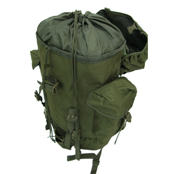 ジャーマンタイプ防水布使用75リッター リュックサックブラック