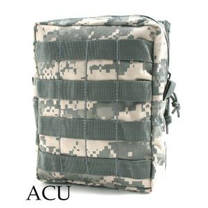モール対応防水布使用オペレーション ウェストポーチ ACU - 拡大画像