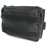 モール対応防水布使用 ウェストポーチ ブラック