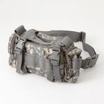 アメリカ陸軍 3WAYウエストバッグ ナイロン(1000デニール) 防水生地使用 B S056YN ACU カモ 【 レプリカ 】
