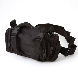 アメリカ陸軍 3WAYウエストバッグ ナイロン(1000デニール) 防水生地使用 B S056YN ブラック 【 レプリカ 】