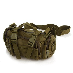アメリカ陸軍 3WAYウエストバッグ ナイロン(1000デニール) 防水生地使用 B S056YN オリーブ 【 レプリカ 】  - 拡大画像
