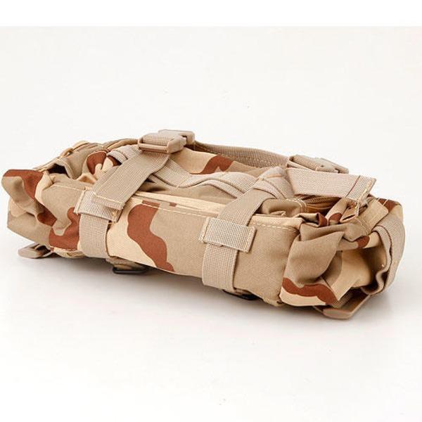 アメリカ陸軍 3WAYウエストバッグ ナイロン(1000デニール) 防水生地使用 BS056YN マルチ カモ 【 レプリカ 】