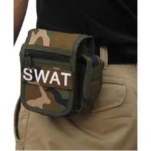 アメリカ SWAT部隊多機能ベルトポーチ 復刻番 ウッドランド - 拡大画像
