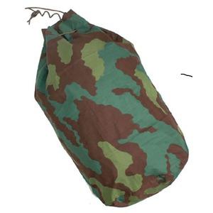 イタリア軍放出 カモーフラージュ柄ダツフルバッグ未使用デットストック - 拡大画像
